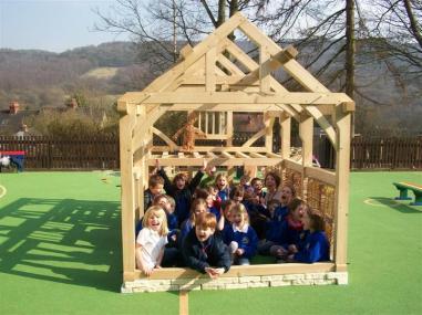 Building a Tudor House