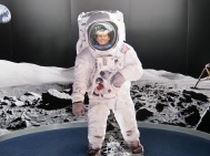 Happiest spaceman ever
