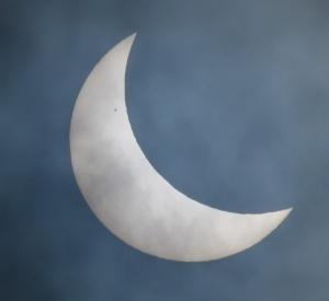 eclipse-sunspot