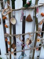 Bird food decorations.