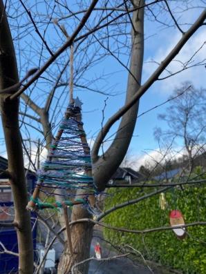 A christmas tree.
